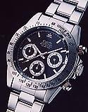 エルジン ELGIN 腕時計 クロノグラフ メンズ FK1059S-B
