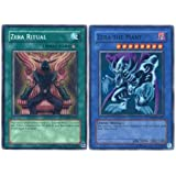 Yu Gi Oh Premium Foil Card Zera the Mant & Ritual [Toy]