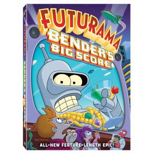 Футурама: Большой куш Бендера / Futurama: Bender's Big Score (2007/DVDRip/ENG)