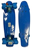 RETRO BOARDS Youth Square Series Skateboards, Blue, 22