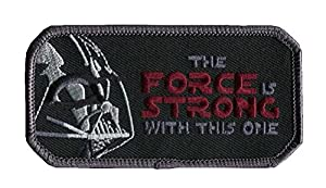 VELCRO The Force Is Strong with This One Morale Tactical Airsoft Paintbal Patch