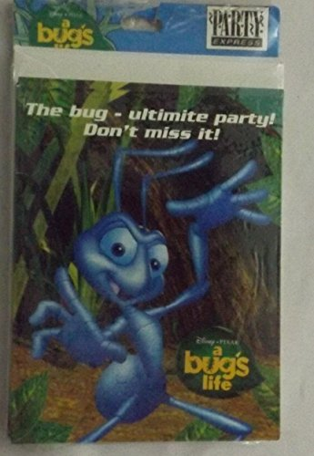 A Bug's Life Invitations w/ Envelopes (8ct)