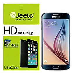 Jeelo HD Clear Front & Back Screen Guard for Samsung Galaxy S6
