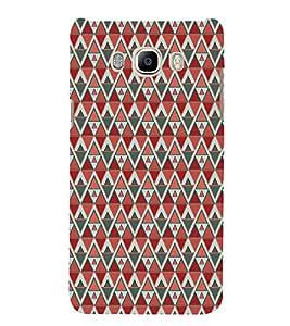 Colourful Pattern 3D Hard Polycarbonate Designer Back Case Cover for Samsung Galaxy J7 (6) 2016 Edition :: Samsung Galaxy J7 (2016) Duos :: Samsung Galaxy J7 2016 J710F J710FN J710M J710H