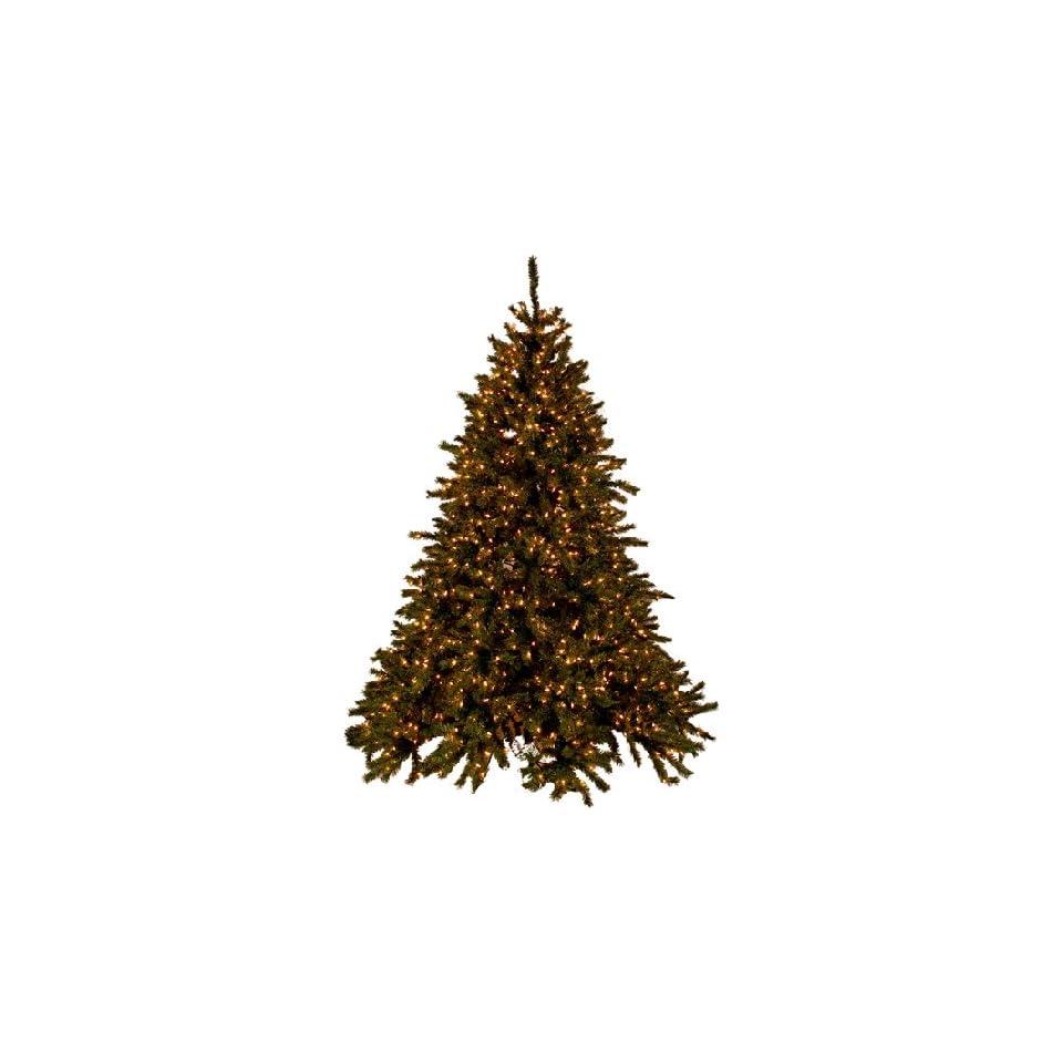 PRE LIT SUPER BRIGHT CHRISTMAS TREE   9 TALL   CLEAR LIGHTS