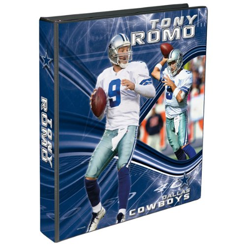 Perfect Timing Turner Dallas Cowboys Tony Romo 3 Ring Binder, 1-Inch (8180262) at Amazon.com