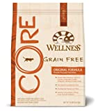 Wellness CORE Grain Free Dry Cat Food for Adult Cats, Original Fish and Fowl Recipe, 12-Pound Bag