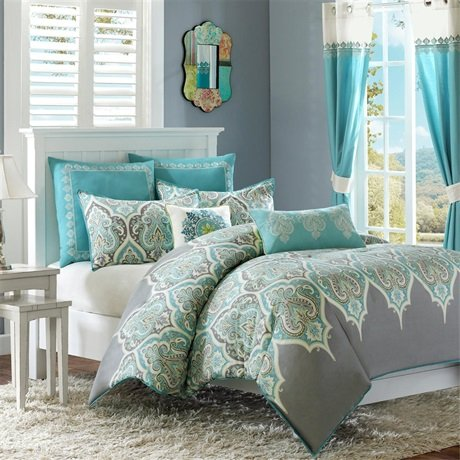 Madison Park Maya Comforter Set - Multi - King/Cal King front-853436