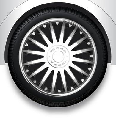 """Radzierblenden Radkappen Radabdeckung 13"""" Zoll #2 CHROME ABS von ZentimeX - Reifen Onlineshop"""