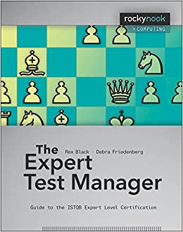 the expert test manager guide to the istqb expert level