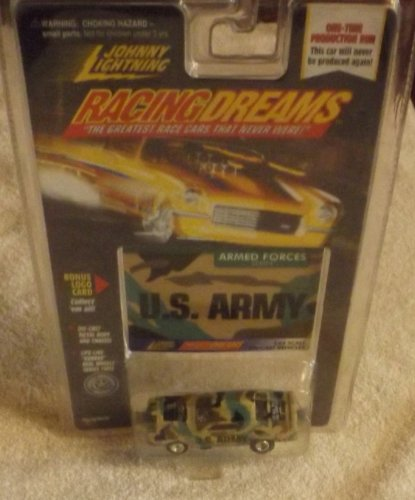 1998 JOHNNY LIGHTNING - RACING DREAMS ARMED FORCES SERIES - U.S. ARMY - 1/64