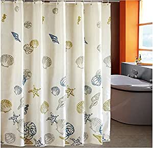 No Drill Curtain Rod Shower Curtain Rings