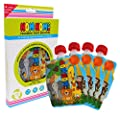 Nom Nom Kids ANIMAL Reusable Food Pouch (pack of 4) by Nom Nom Kids