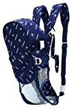 Multifunctional Moby Wrap Baby Safty Carrier Comfort Sling (Dark Blue)