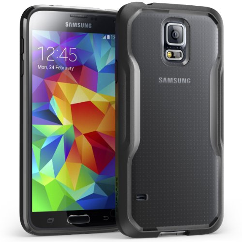 Samsung Galaxy S5 Mini Case, SUPCASE Unicorn Beetle Premium Hybrid Protective Case (SM-G800, Frost Clear/Black, Not Fit Samsung Galaxy S5 Regular Version i9600) (Galaxy S5 Mini Case compare prices)