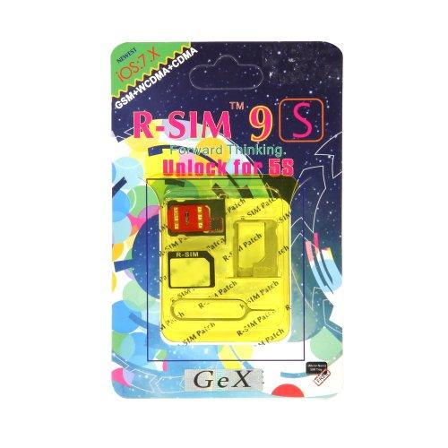 iPhone 5s RSIM9 SIMロック解除アダプター SIMアンロック