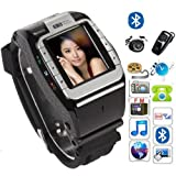 Flylink� Watch Mobile Cell Phone DVR Hidden Camera MP3 Wrist Quad 4 Band,Newest