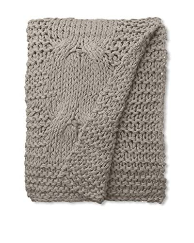 Amity Home  Michaela Knitted Throw, Gray