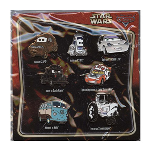 Disney/Pixar Cars as Star Wars Characters Pin Set