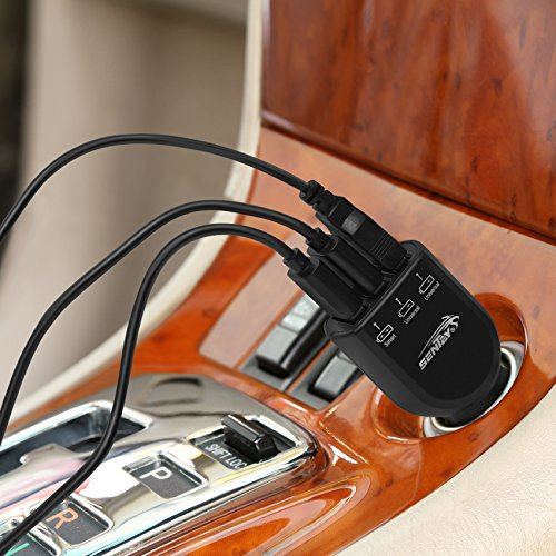Sentey-LS-2241-2.4A-Car-Charger