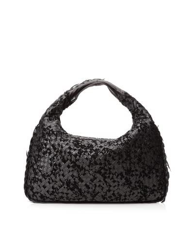 Bottega Veneta Women's Medium Hobo Bag, Black