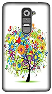 Timpax Protective Hard Back Case Cover Printed Design : A beautiful tree.Exclusively Design For : LG G3 Stylus ( D690N )