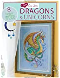 I Love Cross Stitch Dragons & Unicorns: 8 Fantasy Creatures to Stitch