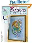 I Love Cross Stitch Dragons & Unicorn...