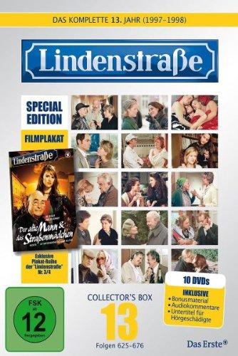 Die Lindenstraße - Das dreizehnte Jahr (Folgen 625-676) (Special Edition, Collector's Box, 10 DVDs)