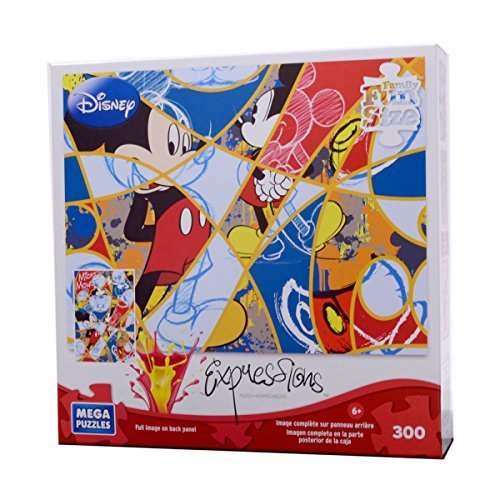 Disney Expressions 300 Piece Mega Puzzle -- Timeless Mickey