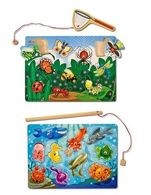 Melissa & Doug Fishing And Bug Catching Magnetic Game Bundle (Pack of 2) by Melissa & Doug