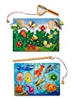 Melissa & Doug Fishing And Bug Catching Magnetic Game Bundle (Pack of 2)
