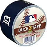 Duck Brand 240738 Detroit Tigers MLB Team Logo Duct Tape, 1.88-Inch by 10-Yard, 1-Pack