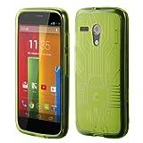 Motorola Moto G Cruzerlite Bugdroid Circuit Green Case For Motorola Moto G -Green