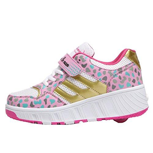 iBaste-ventilacin-Zapatos-de-moda-caminar-rpido-zapato-con-ruedas-automtico