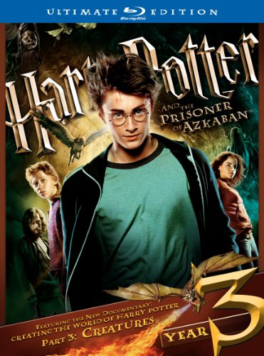 Cover art for  Harry Potter and the Prisoner of Azkaban (Three-Disc Ultimate Edition) [Blu-ray]