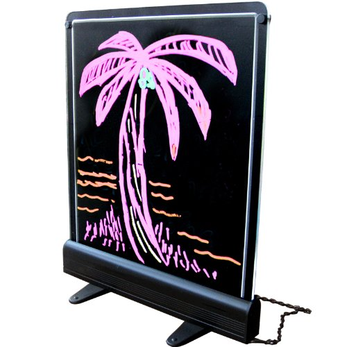 Writeable LED Chalkboard-Menu Board for Signs+Messages Holiday Gift Idea