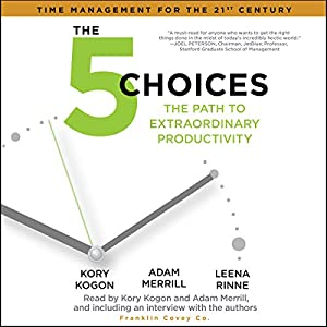 The 5 Choices Hörbuch