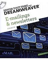 E-mailings et newsletters : Savoir tout faire avec Dreamweaver (1Cédérom)