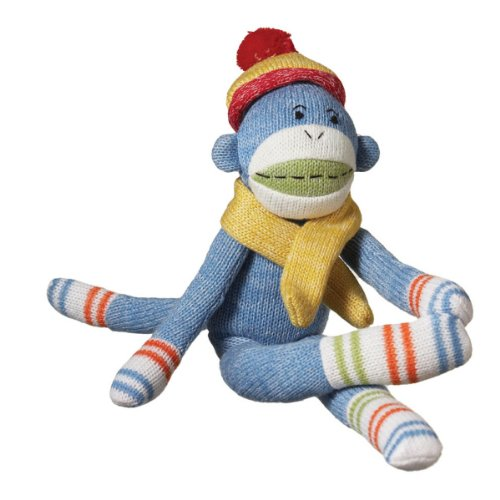 Buy 14 Quot Genuine Monkeez And Friends Blue Plush Murphy Sock