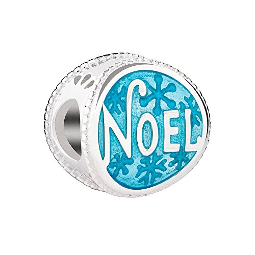 Chamilia Sterling Silver Teal Noel Bead Charm