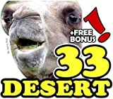The 33 Desert Animals: A Kids Learn to Read Animal Picture Book with Large Photos (Free Bonus: 30+ Free Online Kids Jigsaw Puzzle Games!)