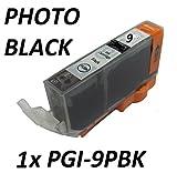1X PGI-9PBK PHOTO BLACK COMPATIBLE CARTRIDGE FOR CANON PIXMA Pro9500 SERIES, iX7000, MX7600. 15ml EACH. PGI-9