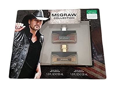 Tim McGraw Collection Men's Two Pack of Cologne - Original & Southern Blend 1 Oz