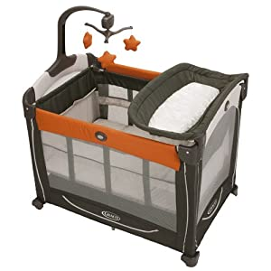 Graco Pack 'N Play Element Playard, Tangerine