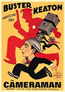 The Cameraman Poster Movie Foreign 11x17 Buster Keaton Marceline Day Harold Goodwin Harry Gribbon