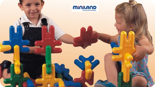 Miniland Kim Buni Super (36 Pieces/Suitcase)