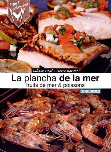 Plancha de la mer, poissons, coquillages & crustacés