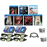 SONY Compatible 3D Glasses Deluxe Movie Pack for ALL SONY 3D Televisions OUR BEST 3D VALUE EVER!