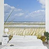 vlies fototapete fototapeten tapete tapeten foto nordsee ostsee strand 655 ve baumarkt. Black Bedroom Furniture Sets. Home Design Ideas
